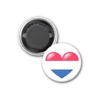 Dutch heart magnet - Nederlandse hart