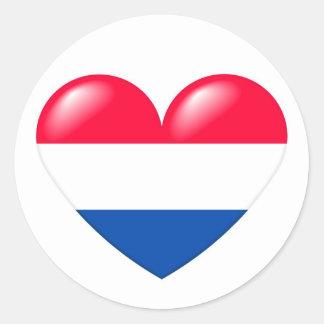 Dutch heart sticker - Nederlandse hart