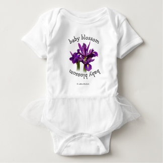 Dutch Iris Purple Sensation Baby Bodysuit