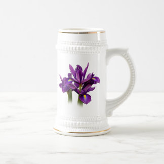 Dutch Iris Purple Sensation Beer Stein