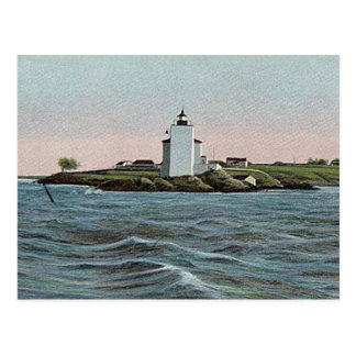 Dutch Island lighthouse Postcard
