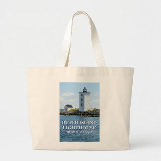 Dutch Island Lighthouse, Rhode Island Tote Bag