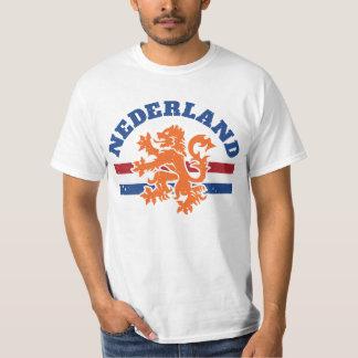 Dutch Lion with Netherlands Flag T-Shirt