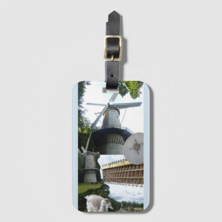 Dutch Mills Luggage Tag