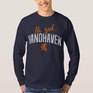 Dutch Motto Tee, Ik Zal Handhaven T-Shirt