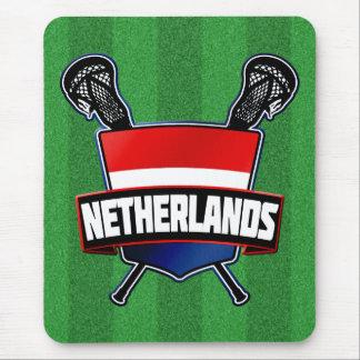 Dutch Nederlandse Lacrosse Mouse Pad