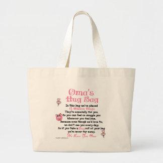 Dutch -  Oma - Plural Verse Large Tote Bag