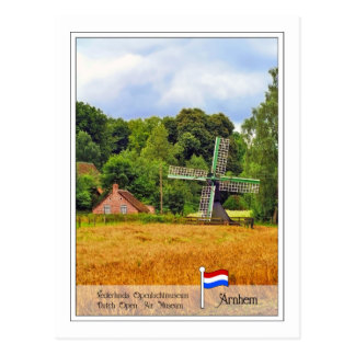 Dutch Open Air Museum Arnhem, Netherlands Postcard