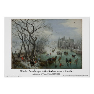 Dutch Painting Poster