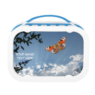 Dutch Peacock Butterfly Lunch Box