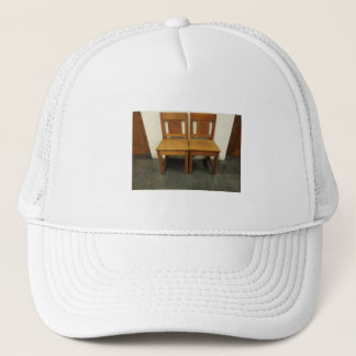 Dutch Photograph Two Chairs Trucker Hat