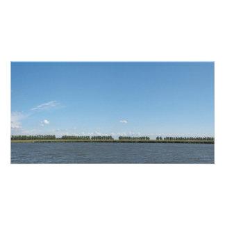 Dutch Polder Landscape Panorama Photo Customized Photo Card