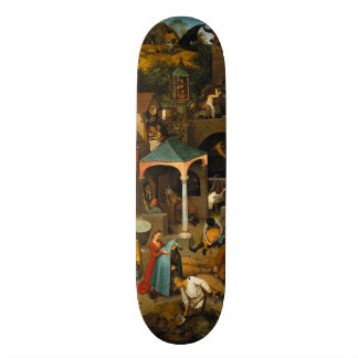 Dutch Proverbs by Pieter Bruegel the Elder Skate Decks