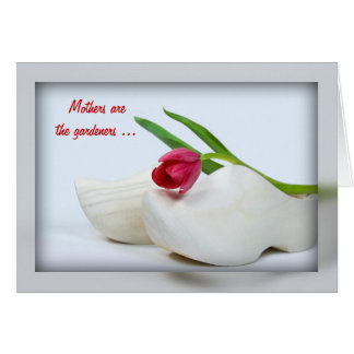 Dutch Red Tulip Greeting Card