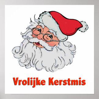 Dutch Santa Claus Poster