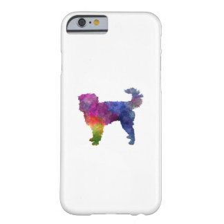 Dutch Smoushond in watercolor Barely There iPhone 6 Case