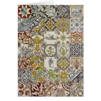 Dutch Tiles Card