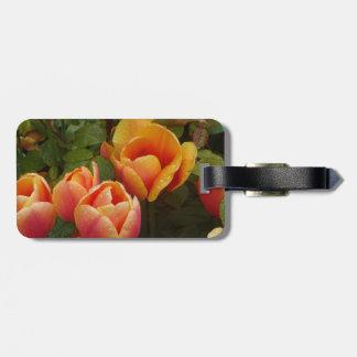 Dutch Tulips Luggage Tag
