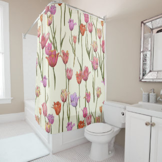 Dutch Tulips Shower Curtain