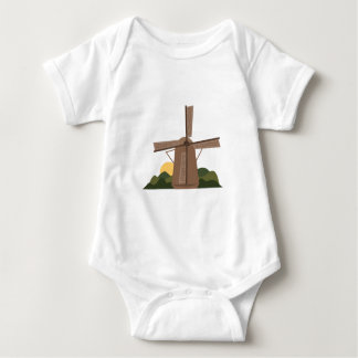 Dutch Windmill Baby Bodysuit