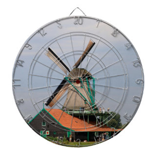 Dutch windmill village, Holland 3 Dartboard