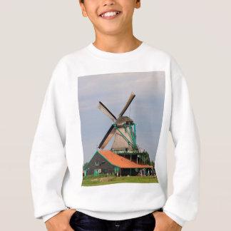 Dutch windmill village, Holland 3 Sweatshirt