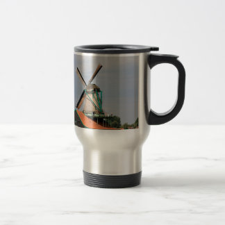 Dutch windmill village, Holland 3 Travel Mug