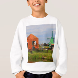 Dutch windmill village, Holland 4 Sweatshirt