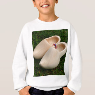 Dutch wooden clogs sweatshirt