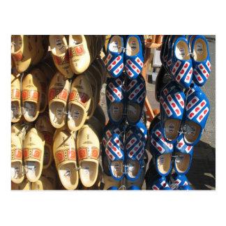 Dutch Wooden Shoes Photo Postcard