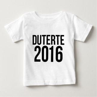 Duterte 2016 baby T-Shirt
