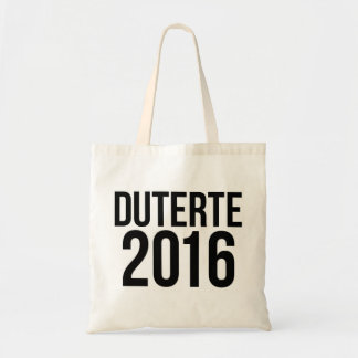 Duterte 2016 tote bag