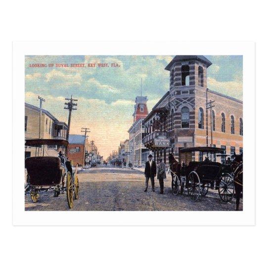 Duval St., Key West, Florida 1900 Vintage Postcard