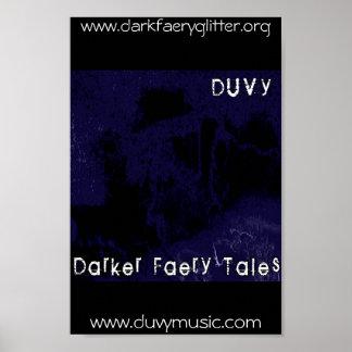 Duvy Darker Faery Tales Poster