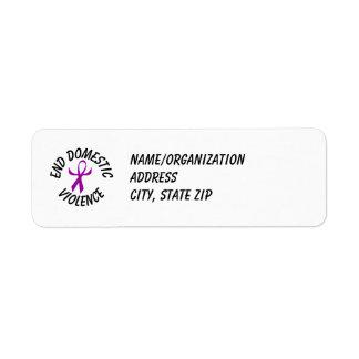 DVA Ribbon (humanized) Return Address Label