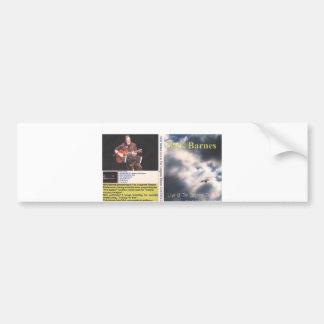 dvd artwork nick @ congress theatre, NICK BARNES Bumper Sticker