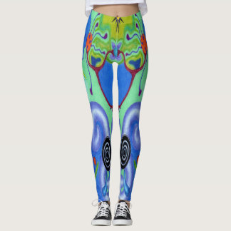 "Dwainizms ""Astral Dreams - Cool"" Leggings"