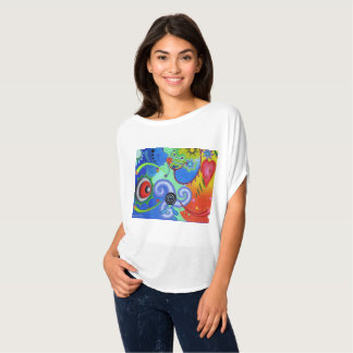 "Dwainizms ""Astral Dreams"" Flowy Circle Top"