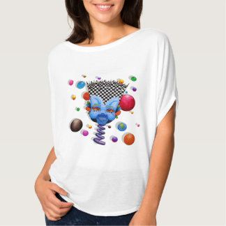 "Dwainizms ""Blue Man"" Flowy Circle Top"
