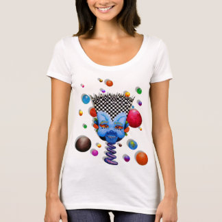"Dwainizms ""Blue Man"" Next Level Scoop Neck Tee"