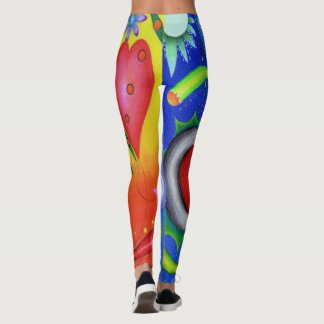 "Dwainizms Colorful ""Astral Dreams"" Leggings"