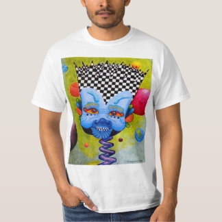 "Dwainizms Colorful ""BlueMan"" Men's Value T-Shirt"