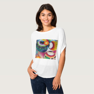 "Dwainizms Dazzling ""Eye Candy"" Flowy Circle Top"