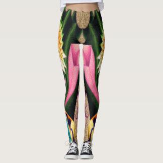 """Dwainizms """"Tetris - Green"""" Custom Leggings"""