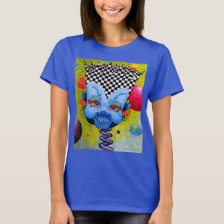 "Dwainizms Vivid ""BlueMan"" Women's Dark T-Shirt"