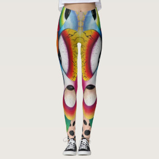"Dwainizms Vivid ""Eye Candy - Two"" Leggings"