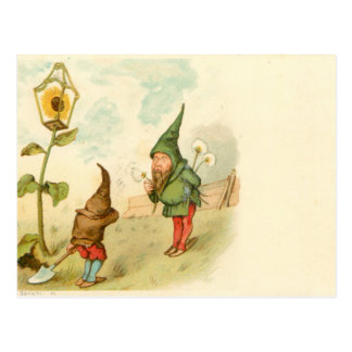 Dwarf and Dandelion Postcard