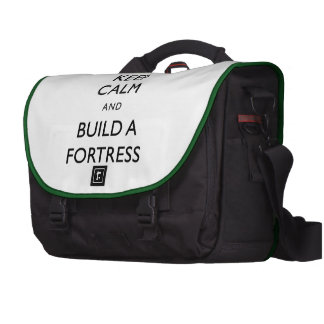 Dwarf Fortress Keep Calm and Build a Fortress Item Laptop Computer Bag
