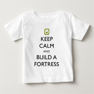 Dwarf Fortress Keep Calm and Build a Fortress Item Shirt