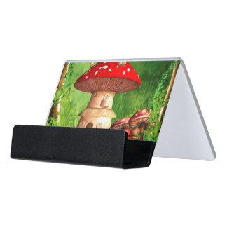 Dwarf Land Desk Business Card Holder